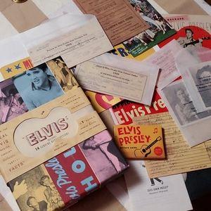 Elvis Presley Artifacts Collector's Box 2001